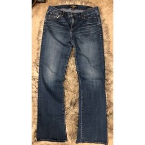"Lucky brand ""sweet boot"" women's jeans"